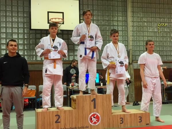 Judo Stadtmeister U15 bis 66 kg